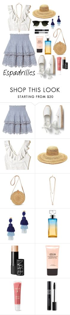 """Summer Again"" by ravenclaw-phoenix on Polyvore featuring St. Roche, Hollister Co., Mar y Sol, Givenchy, Oscar de la Renta, Calvin Klein, NARS Cosmetics, Stila, Lancôme and Pippa"