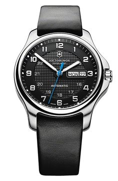 Victorinox Swiss Army® 'Officer's' Automatic Watch with Knife, 40mm available at #Nordstrom