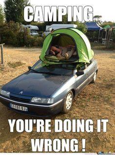 Funny Car Fails 07 Funny Memes Car Humor Car Fails Camping