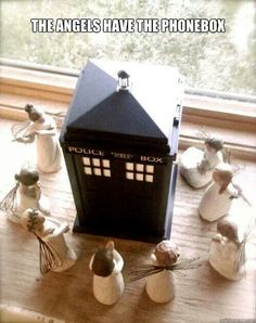 Xmas decorations doctor who style