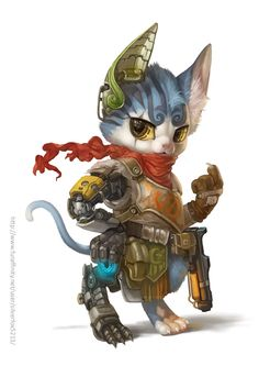Hybrid Kitty by Silverfox5213 on deviantART