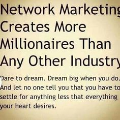 Network Marketing!