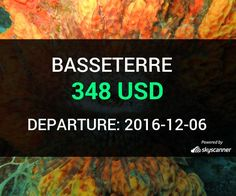 Flight from Seattle to Basseterre by Avia #travel #ticket #flight #deals   BOOK NOW >>>
