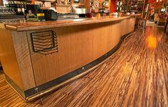 Beautiful grain hardwood bamboo flooring against this kitchen bar Wood Flooring Options, Bamboo Hardwood Flooring, Types Of Hardwood Floors, Discount Wood Flooring, Metal Patio Furniture, Commercial Flooring, Wall Cladding, Home Projects, Phoenix Arizona