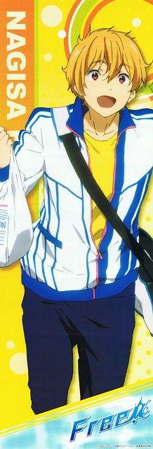 Kyoto Animation, Free!, Nagisa Hazuki, Stick Poster