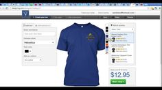 Campground Manager Today Tutorial TeeSpring.  You can provide custome t-shirts and hoodies to your campers and it won't cost you a dime.  You'll also be free of stocking inventory.  Here's how.