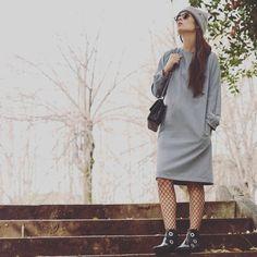 #greydress
