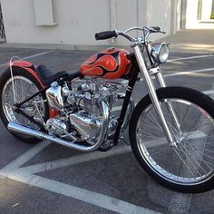 Sweet Triumph by our friend @mikedavis70 found on @choppertownmovie page #lowbrowlife #lowbrowcustoms #triumph #choppers from lowbrowcustoms. More at www.choppertown.com