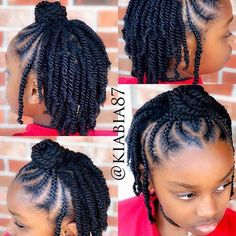 31 Braid Hairstyles for Black Women braided hairstyles for black women protective styles for natural hair braids the latest hairstyle kids hairstyles are easy, quick. See updos on medium length to short hair, simple styles. Little Girls Natural Hairstyles, Natural Braided Hairstyles, Natural Hair Braids, Baby Girl Hairstyles, Braided Hairstyles For Black Women, Braids For Black Hair, Twist Hairstyles, Box Braids Hairstyles, Hairstyle Ideas