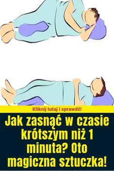 Jak zasnąć w czasie krótszym niż 1 minuta? Oto magiczna sztuczka! Health And Beauty, Life Hacks, Advice, Yoga, Memes, Quotes, Halloween, Tips, Diet