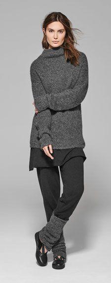 sarah pacini grey comfy knits for winter Fall Fashion Trends, Trendy Fashion, Winter Fashion, Fashion Outfits, Fashion Bloggers, Style Fashion, Fashion Ideas, Casual Chic Summer, Casual Chic Style