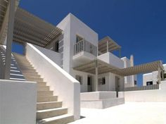 Summer Housing Complex in Naousa by GEM Architects as Architects