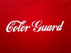 Coca-Cola (Colorguard) I LOVE IT!!!!! MY TWO FAAVORITE THINGS COMBINED!