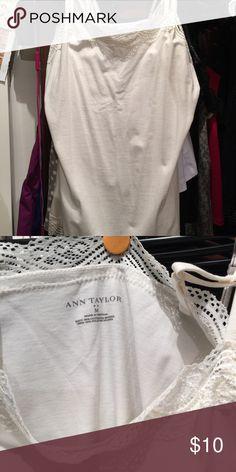 Ann Taylor camisole Ann Taylor camisole Ann Taylor Tops Tank Tops