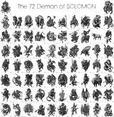 King Solomon's demons