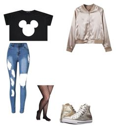 """""""Untitled #324"""" by austynh on Polyvore featuring Lane Bryant, WithChic and Converse"""