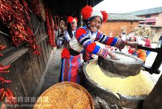 A Primitive Fashion Show-Yunnan Tourism Website