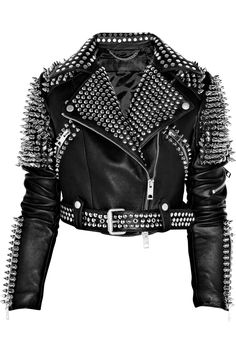 Burberry Prorsum Studded leather biker jacket. It's a bit overkill on the silver studs, but it looks super badass.