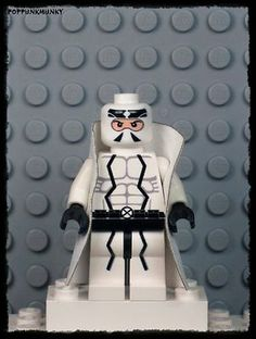 X Force Fantomex Custom Minifigure
