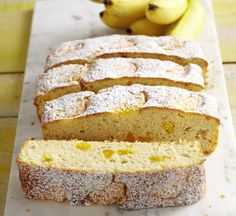 Bild mit: Bananen-Mandarinen-Kuchen