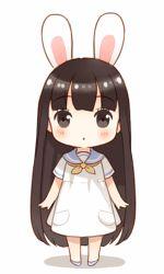 Chibi 61 48 Beautiful Chibi Anime Girl Drawing at Getdrawings Kawaii Anime Girl, Chibi Kawaii, Manga Kawaii, Kawaii Bunny, Cute Anime Chibi, Anime Art Girl, Manga Anime, Manga Eyes, Kawaii Doll