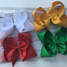 Browse unique items from FrocksAndBows on Etsy, a global marketplace of handmade, vintage and creative goods. Princess Hair Bows, Large Hair Bows, Toddler Hair Bows, Boutique Hair Bows, Children's Boutique, Fabric Hair Bows, Princess Hairstyles, Baby Headbands, Flower Headbands