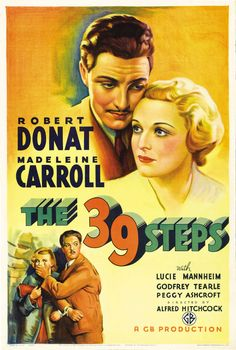 The 39 Steps | US One Sheet Movie Poster, 1935