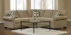 2-pc Ethan Sectional Sofa