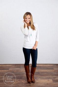3/4 Sleeve Perfect Dolman Tunic! | Jane