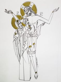 Christ, Religion, Catholic Art, Sacred Art, Bento, Line Art, Mystery, Bible, Faith