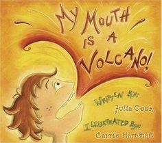 TGIF! - Thank God It's First Grade!: My Mouth is a VOLCANO!!!