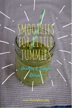 Try our favourite healthy smoothie recipes for your little one - packed full of goodness, an ideal breakfast for a toddler.