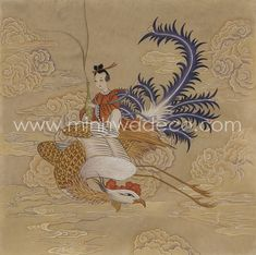 Korean Painting, Korean Art, Chinese Art, Asian, Fashion Illustrations, Iris, Inspiration, Vintage, Biblical Inspiration
