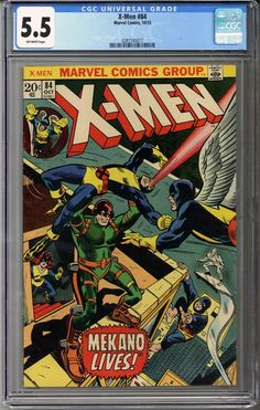 Now available on our store: X-Men #84  CGC 5.5    http://coloradocomics.com/products/x-men-84-cgc-5-5?utm_campaign=social_autopilot&utm_source=pin&utm_medium=pin