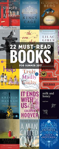 22 Books That Should Be on Your Reading List + How to Host an Awesome Summer Book Swap #sponsored *Love this book club idea, checking out some of these books from the library for summer reading.
