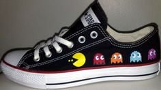 Ideas For How To Wear Converse All Stars Awesome - Cool Converse, Painted Converse, Custom Converse, Converse All Star, Converse Shoes, Custom Painted Shoes, Painted Canvas Shoes, Custom Shoes, Aesthetic Shoes