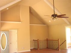 Open up your rooms even more with vaulted ceilings!