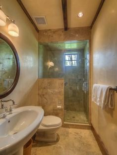 Very compact guest bathroom with shower only. 139 AJ Drive, Mountain Village, CO. 4.6m as of 6/2015