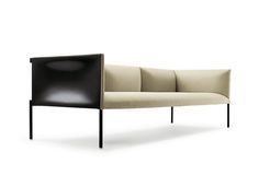 B&B Italia | This product is created from the assembly of a series of different sized modular panels that linked together with hinges, provide backrest and armrest around a comfortable horizontal seat cushion | more inspiring images at www.diningandlivingroom.com