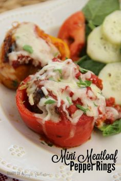 Stuffed Mini Meatloaf Pepper Rings make a delicious one-pot supper! Hello everyone! I'm a little late getting this post out today. I normally post my new recipes very early in the morning, but that didn't quite work out for me this morning. I didn't even hear my alarm! Like not at all! Luckily my 3 …