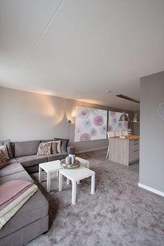 18 beste afbeeldingen van woonkamer - Wall painting colors, Beige ...