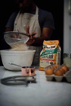 Zimt Bourbon Granatapfel Creme fraiche Kuchen | A-Brown-Tabellen