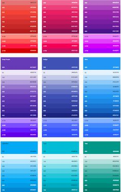 6 Color Matching Techniques for WordPress Web Designers blue 2 color - Blue Things Material Color Palette, Flat Color Palette, Colour Pallete, Color Schemes, Color Palettes, Color Css, Web Design, Design Color, Web Colors