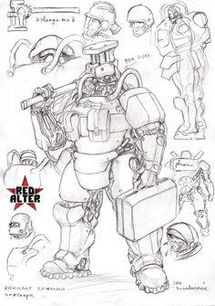 soviet heavy engineer by TugoDoomER.deviantart.com on @deviantART