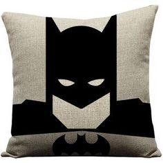 Set of 4 superhero pillows, superman pillow, batman pillow, spiderman pillow, ironman pillow, superhero, superman, batman, super hero pillow #PillowSet