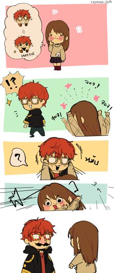 Mystic messenger || thing that might happen when you want 707 to take his glasses off