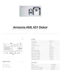 Armonia AML 651 Dekor franke   franke Armonia AML 651 Dekor