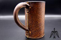 Blackjack, black jack, leather tankard Water Buffalo, Jack Black, Leather Craft, Medieval, Pottery, Mugs, Ceramica, Leather Crafts, Mug