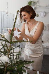 Zeitungsartikel mit LISA LIBELLE - Vintage-Weihnachten. lovely, Annalisa - www.lisalibelle.com