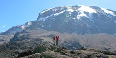 What an awesome view of climbers in Kilimanjaro! Kilimanjaro Climb, Mount Meru, Top Ski, Climbers, Tanzania, Tourism, Places To Visit, Hiking, Adventure